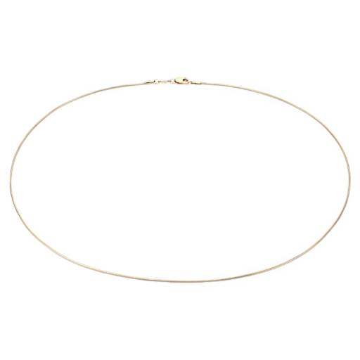Snake Chain Necklace in 14k Yellow Gold - 18'' Long