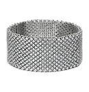 Bracelet diamant déclaration en Or blanc 18 ct (27.14 ct. tw.)