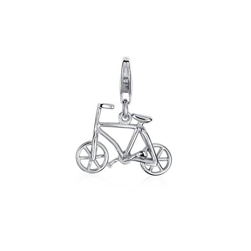 Bicycle Charm in Sterling Silver