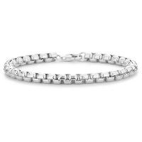 Bracelet vénitien arrondi en argent sterling