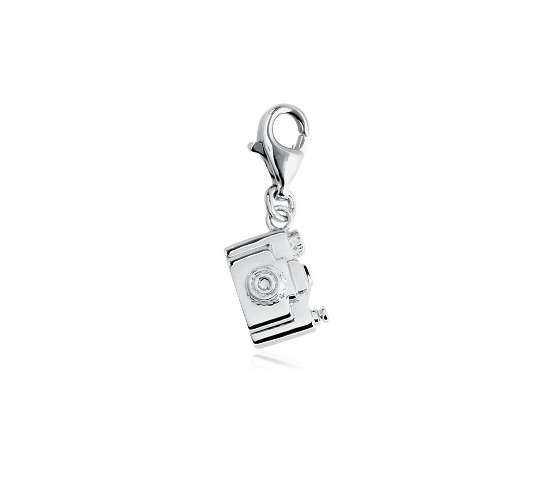 Camera Charm in Sterling Silver