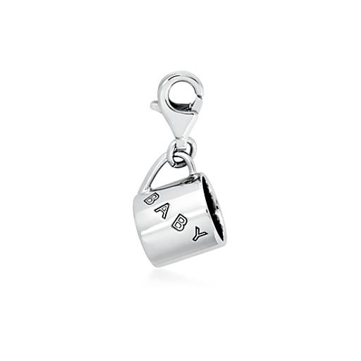 Baby Cup Charm in Sterling Silver