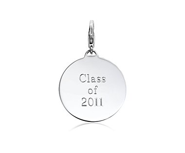 Class of 2011 Charm in Sterling Silver  from bluenile.com