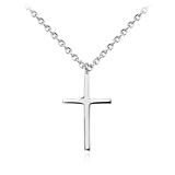 Cross Pendant in Sterling Silver