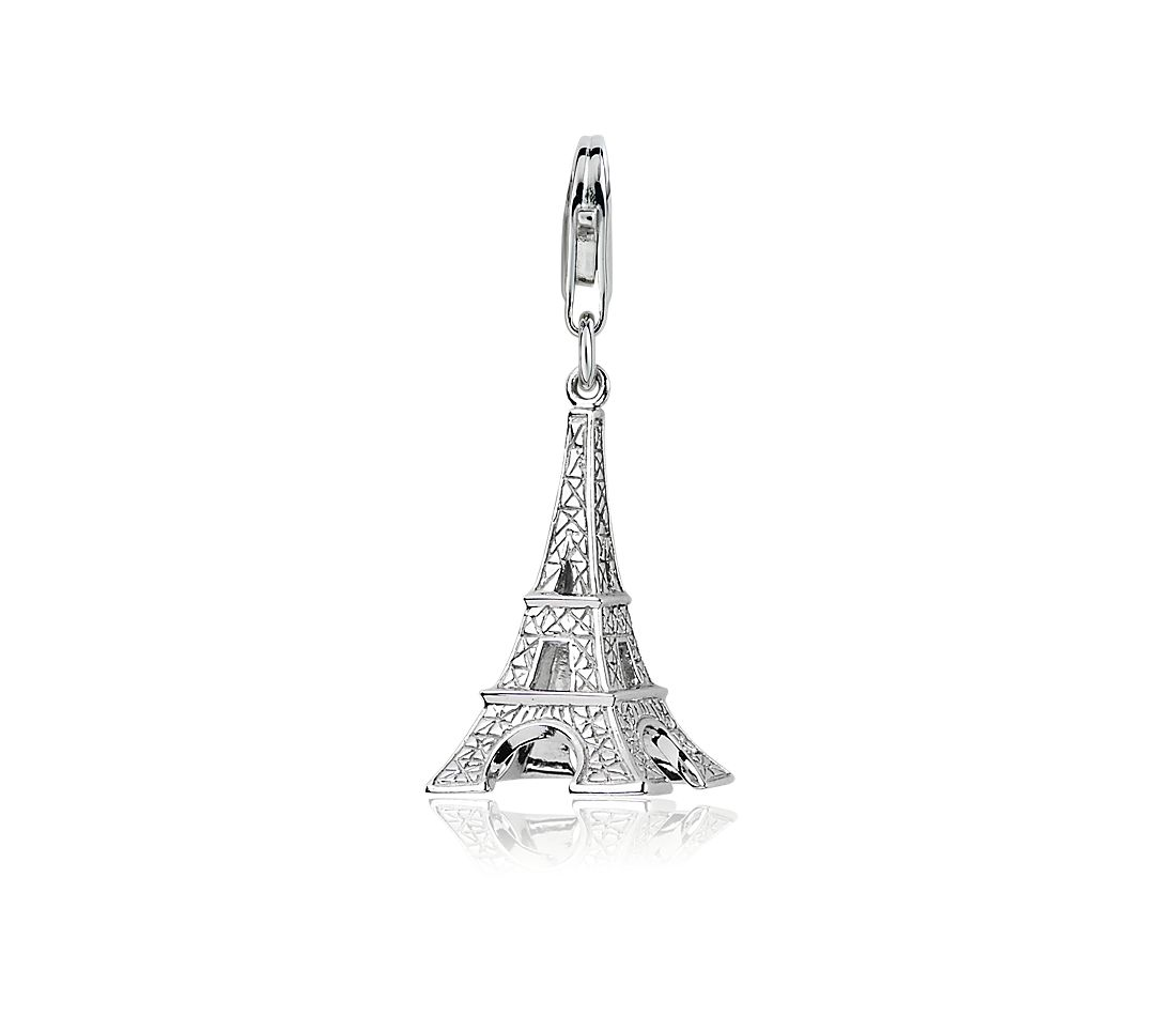Eiffel Tower Charm in Sterling Silver