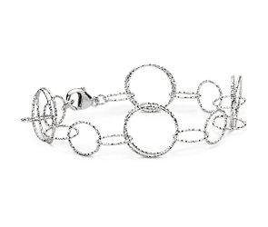 Vivant Link Bracelet in Sterling Silver
