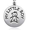 My Little Boy Charm in Sterling Silver