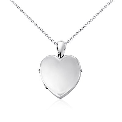 Sweetheart Four-Picture Locket in Sterling Silver