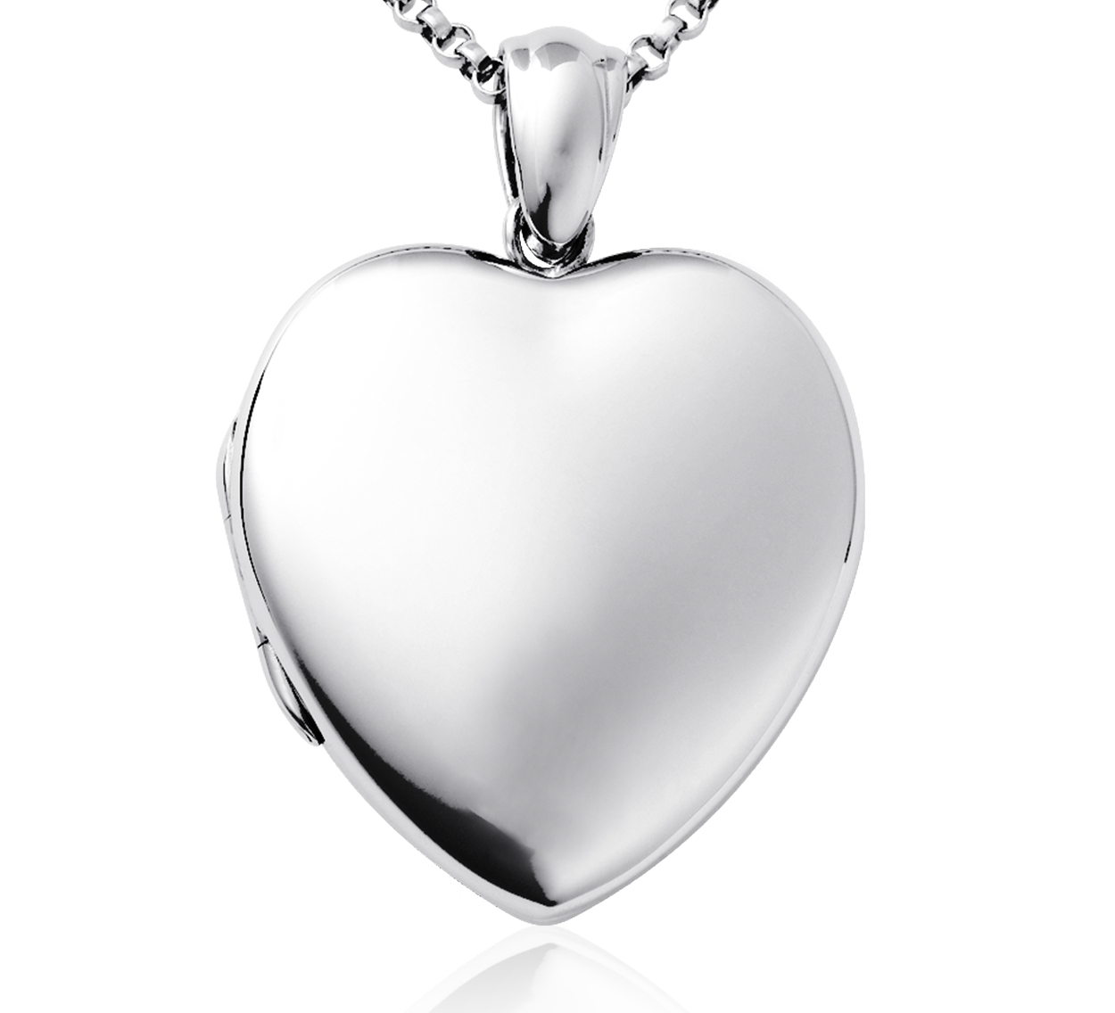 Sweetheart Heirloom Locket in Sterling Silver