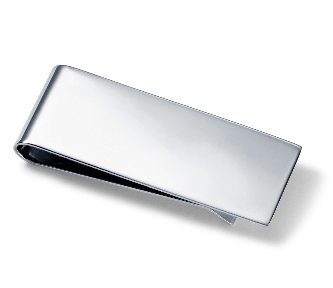 Classic Money Clip in Sterling Silver