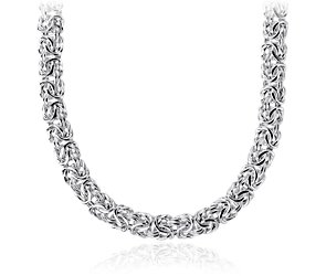 Byzantine Necklace in Sterling Silver