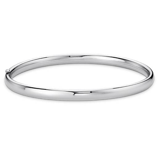 Polished Bangle Bracelet in Sterling Silver