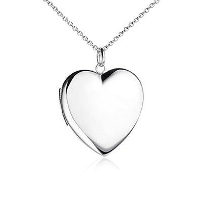 Sweetheart Locket in Sterling Silver