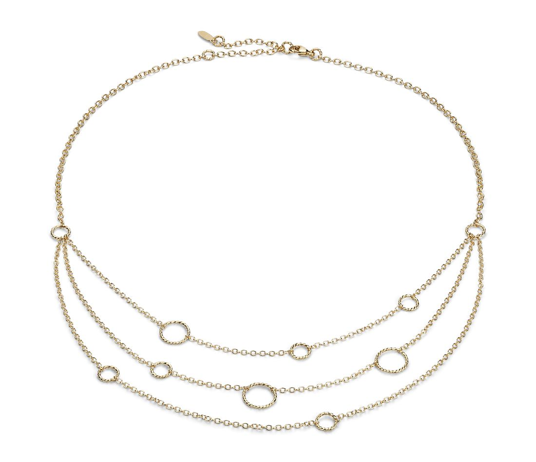 Find great deals on eBay for three strand necklace. Shop with confidence.