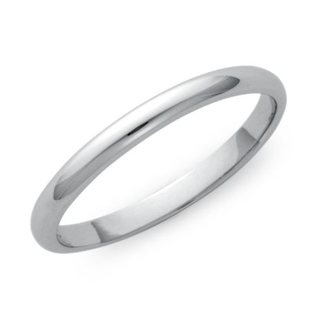 Classic Wedding Ring in Platinum (2mm)