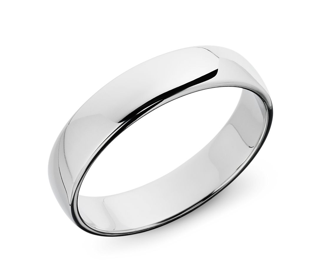 Wedding Ring in Platinum (5mm)
