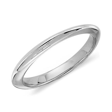Celeste Wedding Ring in Platinum