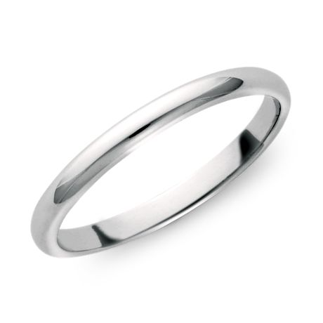 Alliance Classic en Or blanc 18 ct (2 mm)