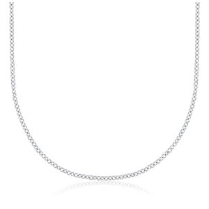 Cable Chain in 14k White Gold
