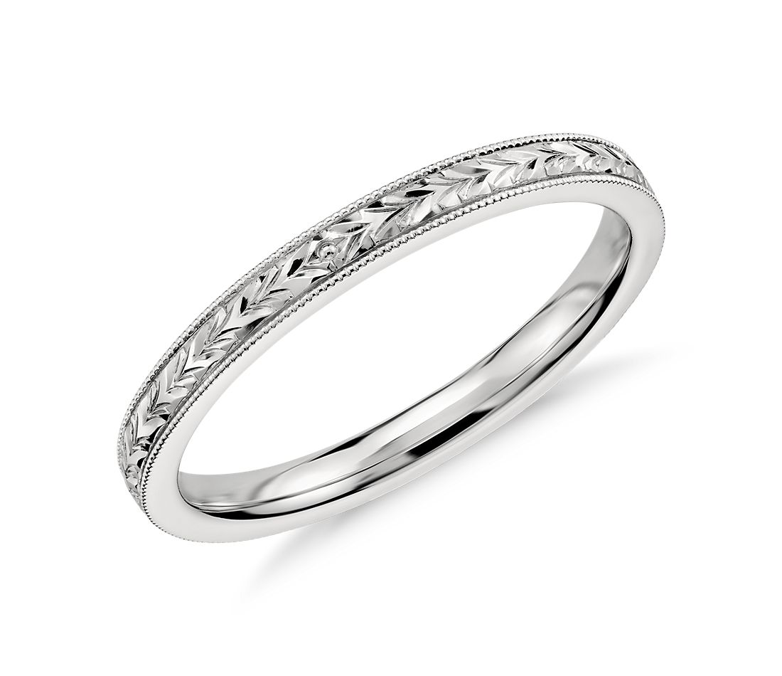 online rings p ring platinum wedding customized for in jewelry hand engraved shop