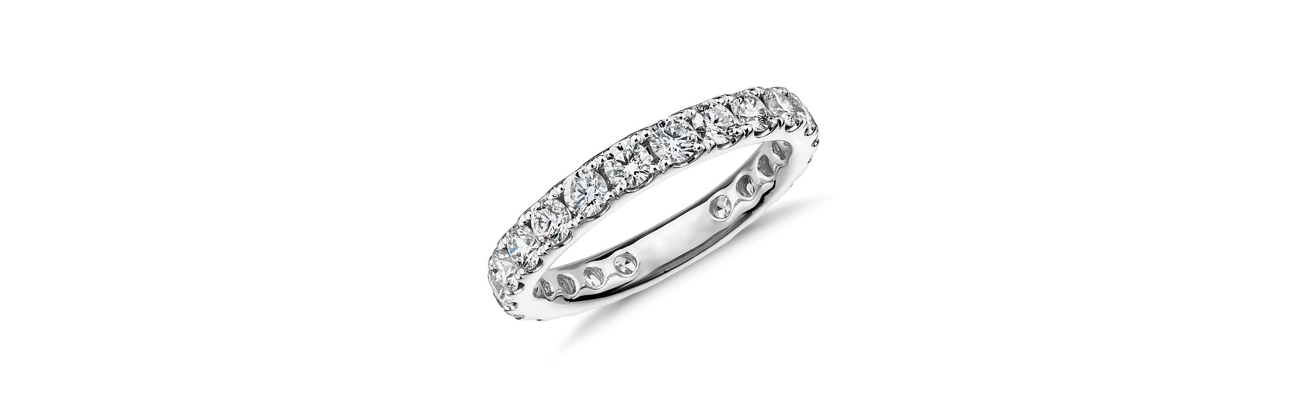 Diamond Eternity Rings 50% off