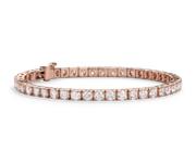 Diamond Tennis Bracelet in 14k Rose Gold