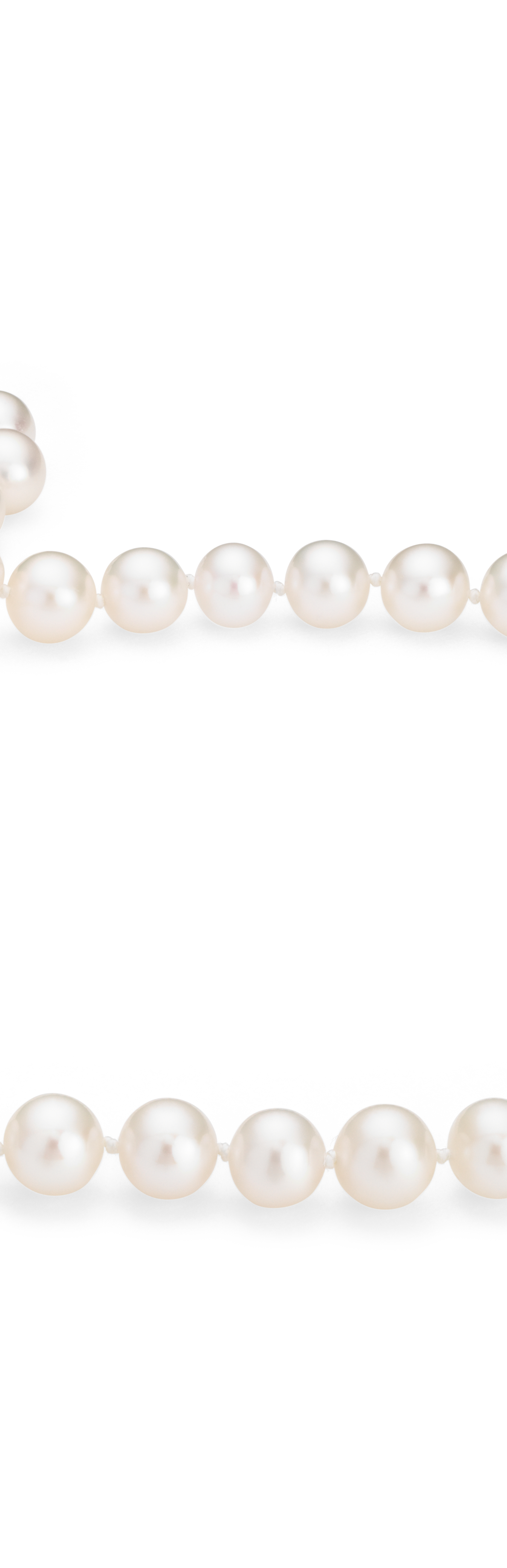 Freshwater Pearl Strands with 14k White Gold