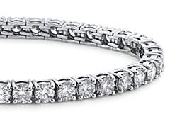 Premier Diamond Tennis Bracelets