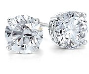 Premium Diamond Earrings in Platinum