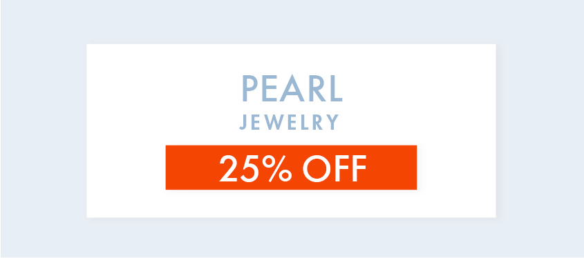 Pearl Jewelry 25% off