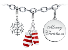 """'Tis the Season"" Holiday Charm Bracelet Starter Idea"