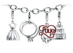 Wedding Day Charm Bracelet Starter Idea