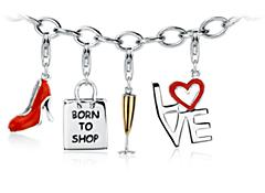Fashion Maven Charm Bracelet Starter Idea