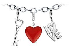 """L-O-V-E"" Charm Bracelet Starter Idea"