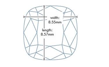 Diamond Length and Width